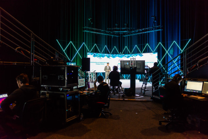 Stage Set, Custom Lighting, Production, Barco, Disguise, Live