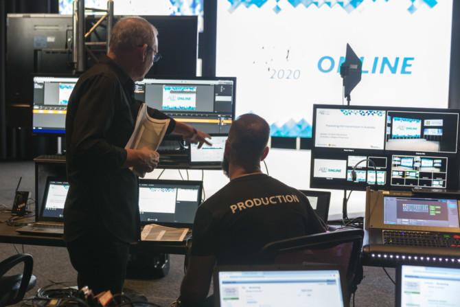Content, Virtual Event, Live Production